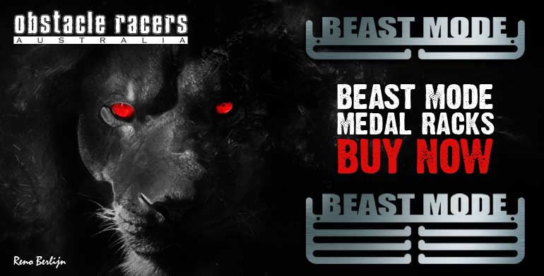 Beast Mode Medal Racks