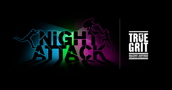 Night Attack - Powered by True Grit - Obstacle Race / Mud Run